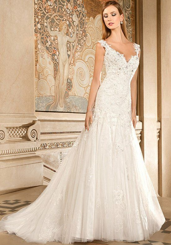 Demetrios 1482 Mermaid Wedding Dress