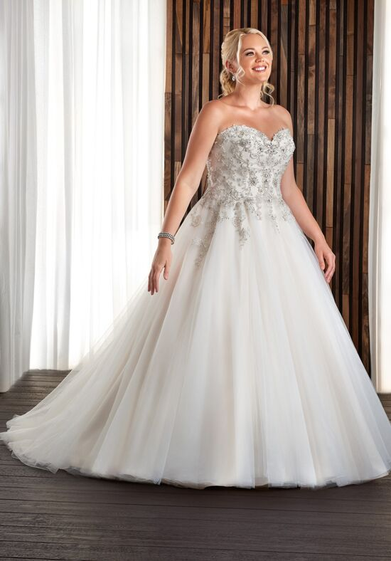 Unforgettable by Bonny Bridal 1709 Ball Gown Wedding Dress