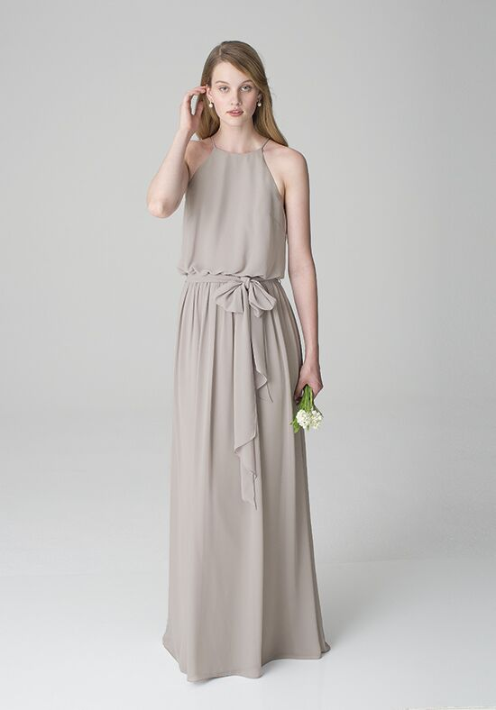 Bill Levkoff 1267 Square Bridesmaid Dress