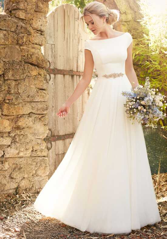 Essense of Australia D2304 A-Line Wedding Dress
