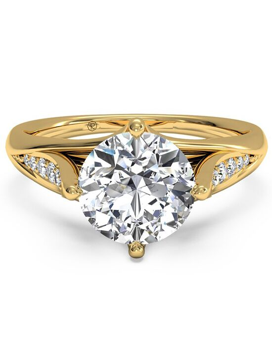 Ritani Vintage Round Cut Engagement Ring