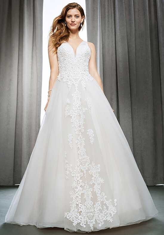 Kenneth Winston 1695 Ball Gown Wedding Dress