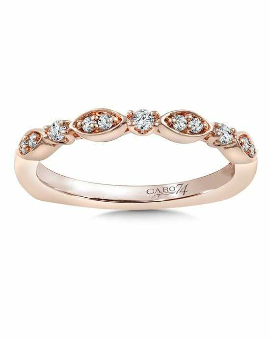 Caro 74 CRS811BP Rose Gold Wedding Ring