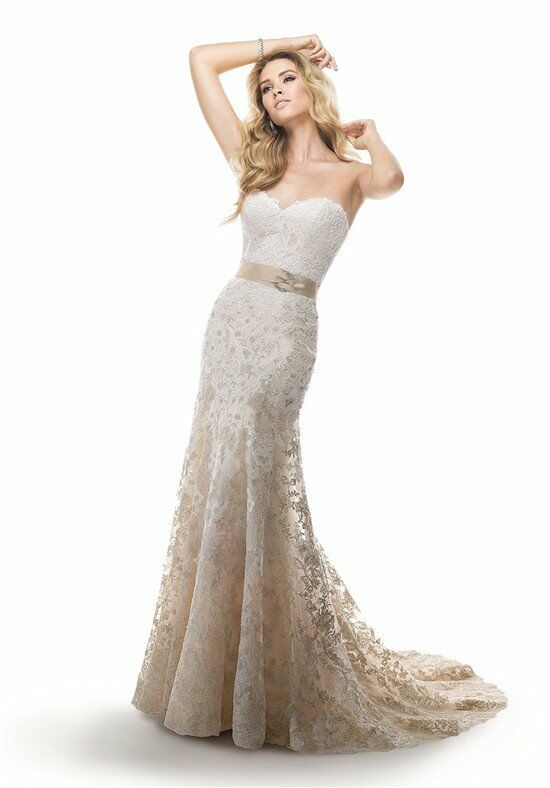 maggie sottero britannia a line wedding dress