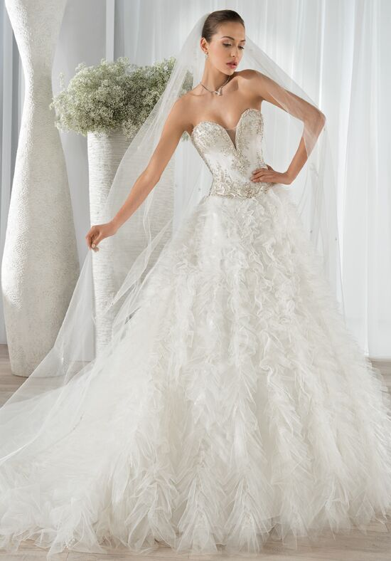 Demetrios 652 Ball Gown Wedding Dress