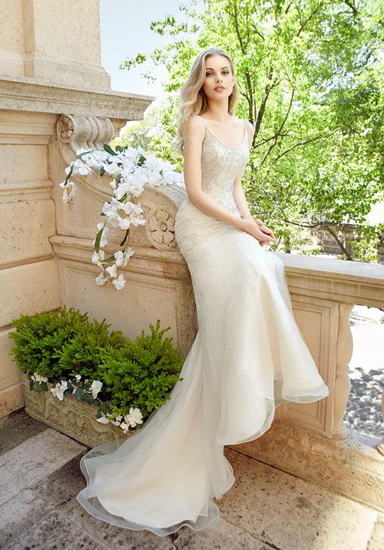 Moonlight Couture H1325 Mermaid Wedding Dress