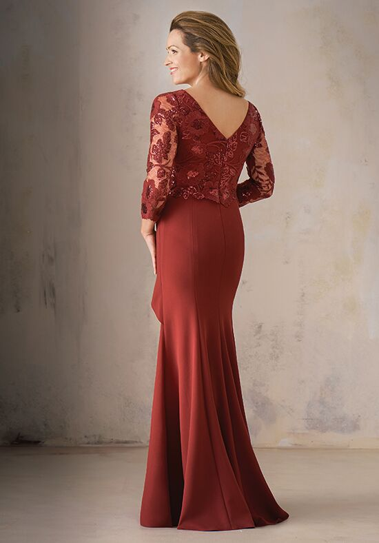 Jade Couture K208001555 Red Mother Of The Bride Dress