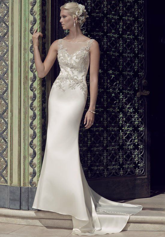 Casablanca Bridal 2202 Sheath Wedding Dress