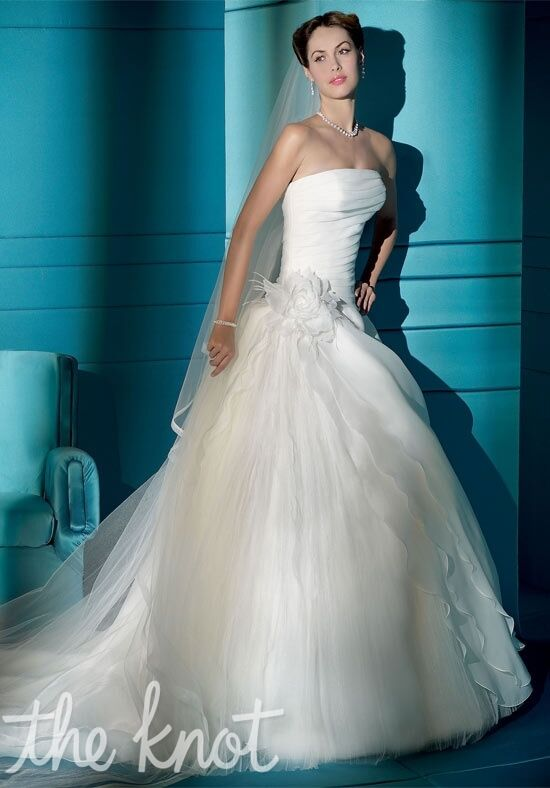 Demetrios 3161 A-Line Wedding Dress
