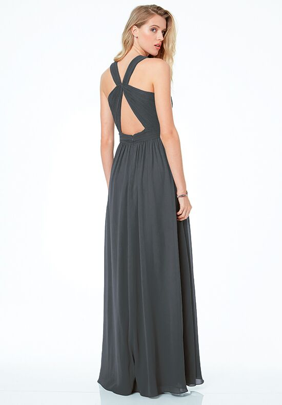 #LEVKOFF 7039 Halter Bridesmaid Dress