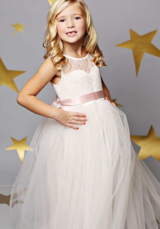 FATTIEPIE Jane Ivory Flower Girl Dress