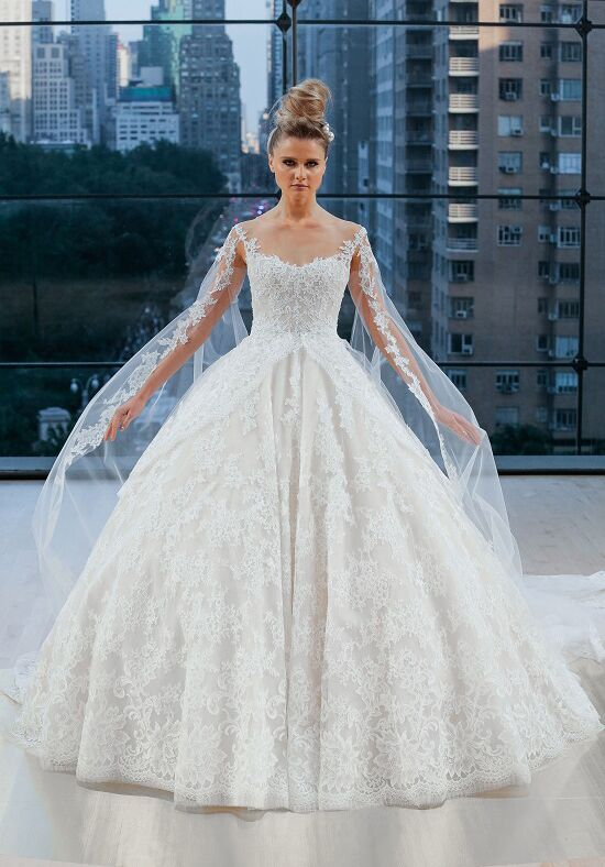 Ines Di Santo Vanderbilt Ball Gown Wedding Dress
