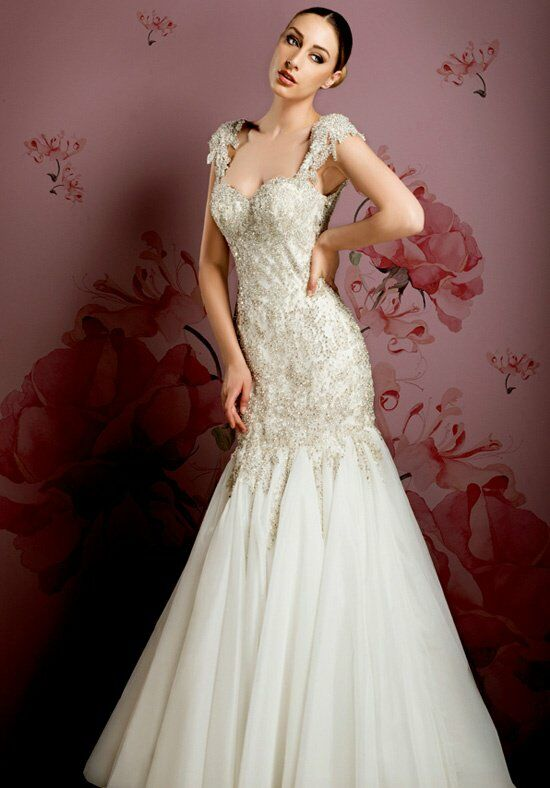 Ysa makino kym75 wedding dress the knot for Ysa makino wedding dress