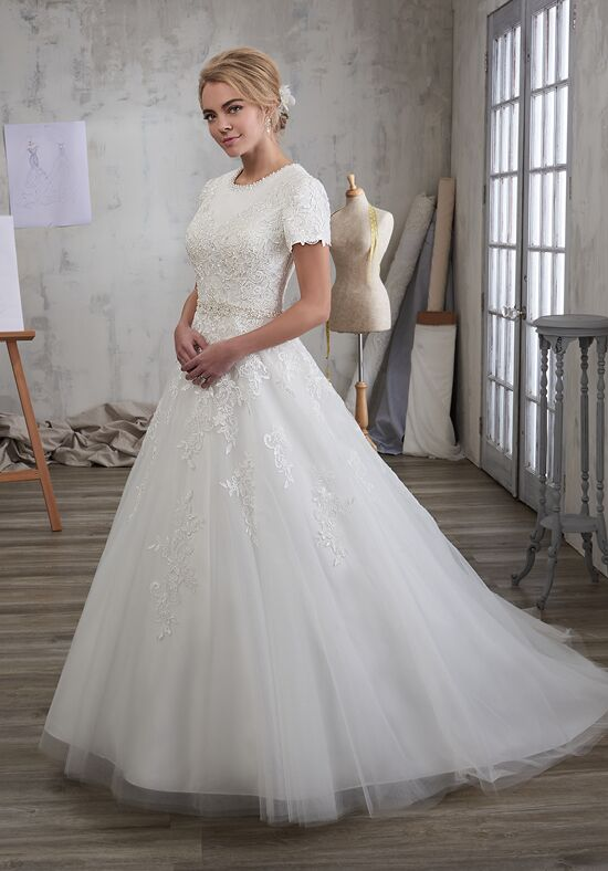 1 Wedding by Mary's Bridal 3Y704 Ball Gown Wedding Dress