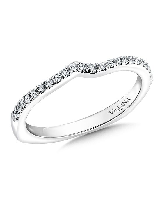 Valina R9533BW White Gold Wedding Ring