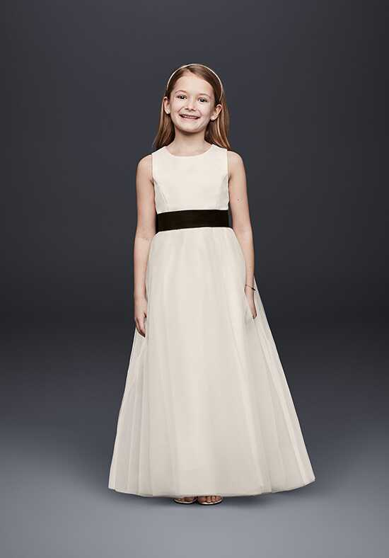 David's Bridal Flower Girl David's Bridal Style S1038 Ivory Flower Girl Dress