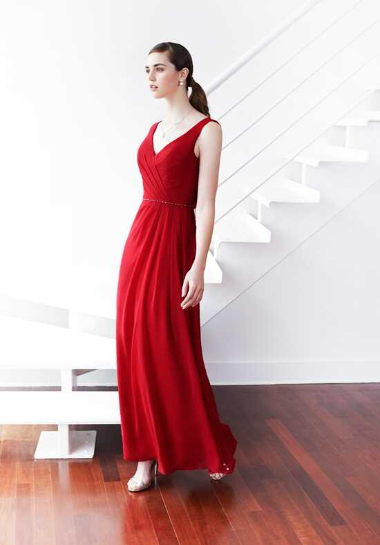 Colour by Kenneth Winston 5215L V-Neck Bridesmaid Dress