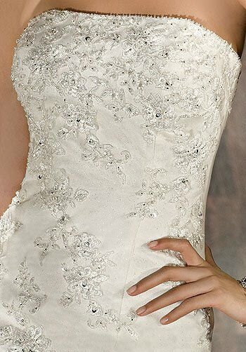 Demetrios 2857 Mermaid Wedding Dress