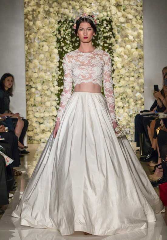 Reem Acra I'm Timeless Ball Gown Wedding Dress