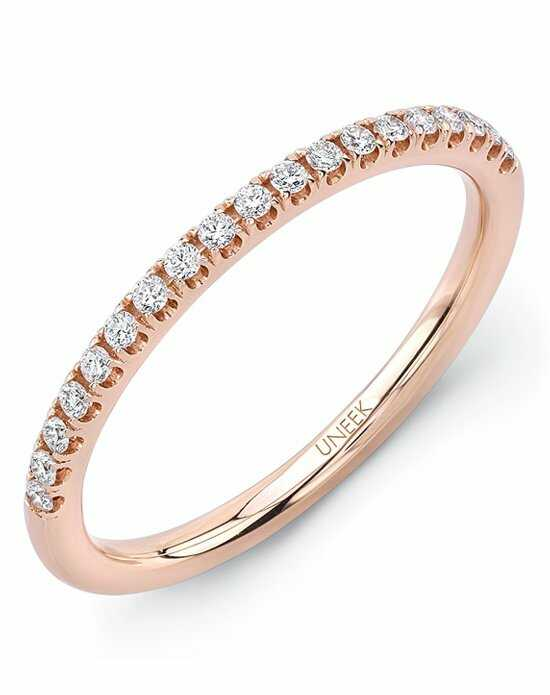 uneek fine jewelry the amore wedding banda106 107b rose gold wedding ring - Rose Gold Wedding Ring