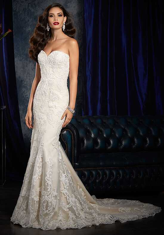 Alfred Angelo Sapphire Bridal Collection 982 Sheath Wedding Dress