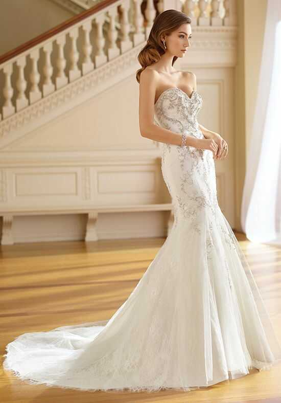 Martin Thornburg a Mon Cheri Collection 217211 Ruth Mermaid Wedding Dress