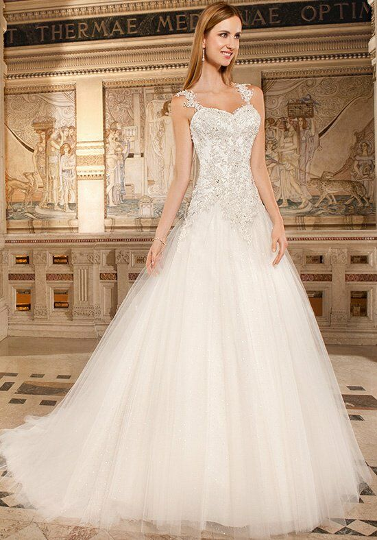Demetrios GR259 A-Line Wedding Dress