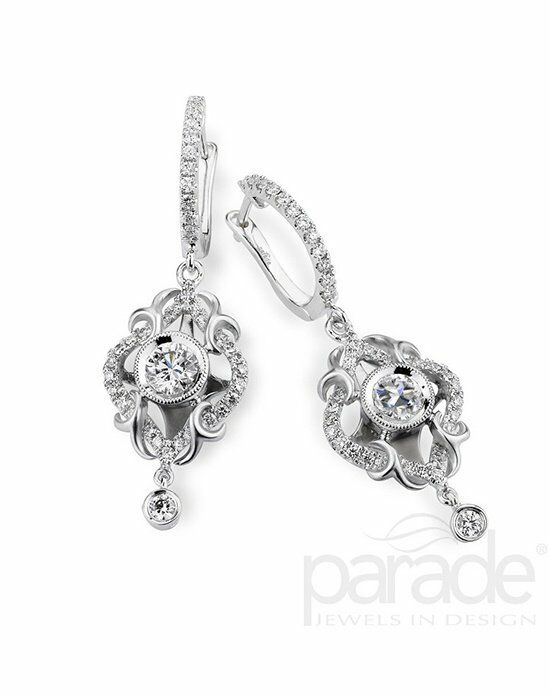 Parade Designs HE2771 from the Lyria Leaves Collection Wedding Earring photo