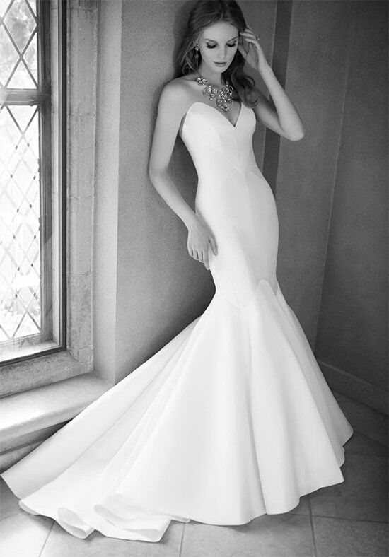 martina liana 626 mermaid wedding dress