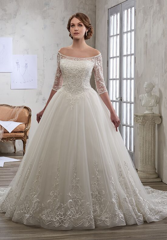 1 Wedding by Mary's Bridal 6601 Ball Gown Wedding Dress