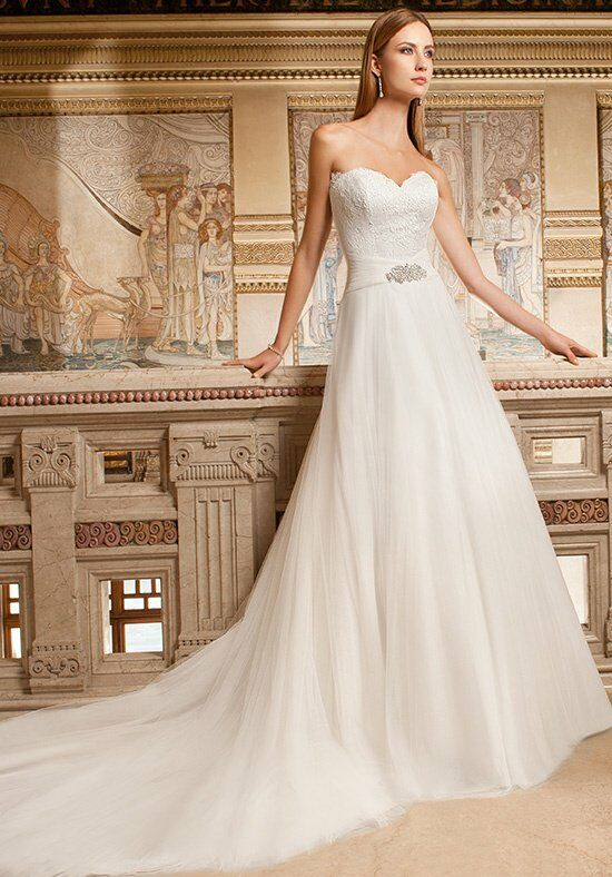 Demetrios GR264 A-Line Wedding Dress