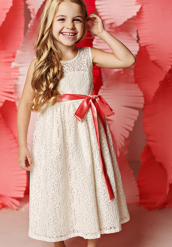 FATTIEPIE Maddie Ivory Flower Girl Dress