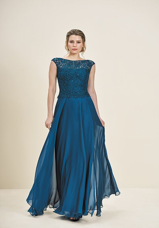 Jade J195062 Blue Mother Of The Bride Dress