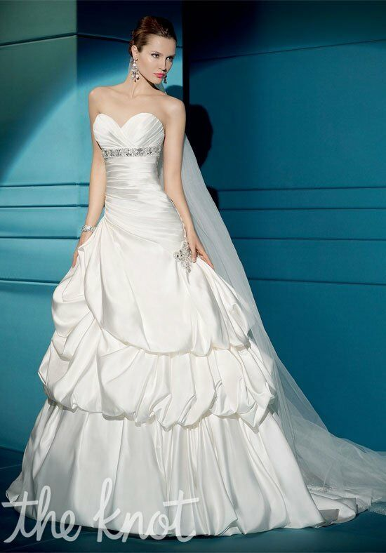 Demetrios 4285 A-Line Wedding Dress