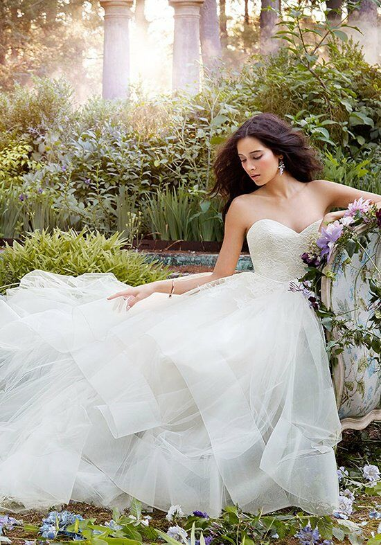 Jim Hjelm 8554 A-Line Wedding Dress
