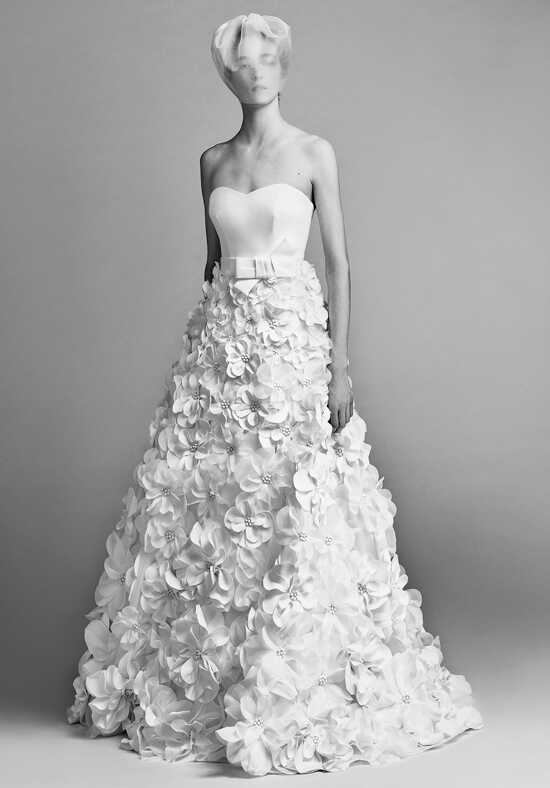 Viktor&Rolf Mariage Flower sculpture dress Ball Gown Wedding Dress