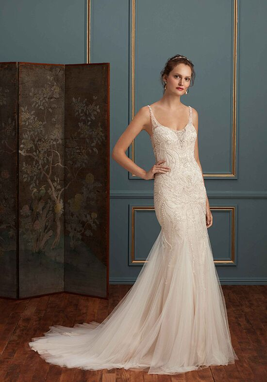 Amaré Couture C113 Evangeline Mermaid Wedding Dress