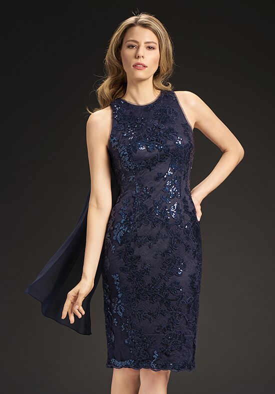 Jasmine Black Label M190063 Blue Mother Of The Bride Dress