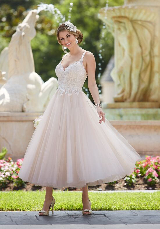 8ee5f6b893 Tea Length Wedding Dresses