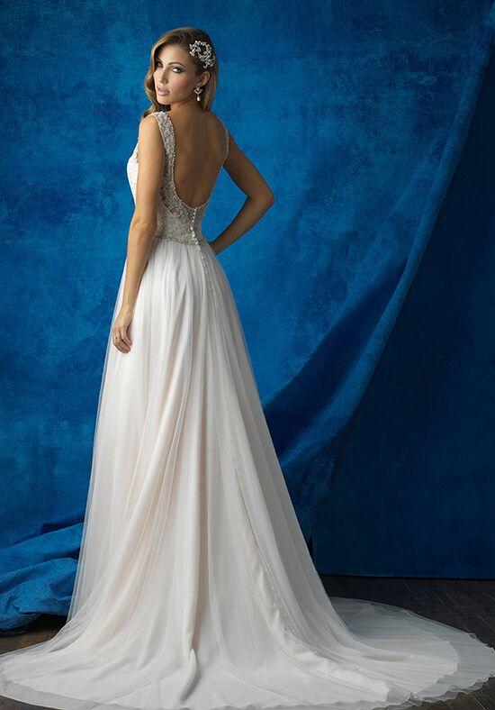 Allure Bridals 9373 A Line Wedding Dress