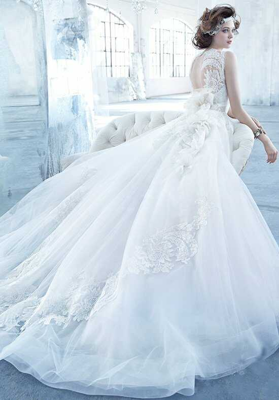 Lazaro 3366 Ball Gown Wedding Dress