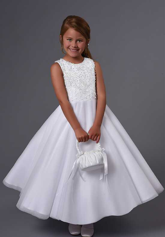 Cupids by Mary's F560 Ivory Flower Girl Dress