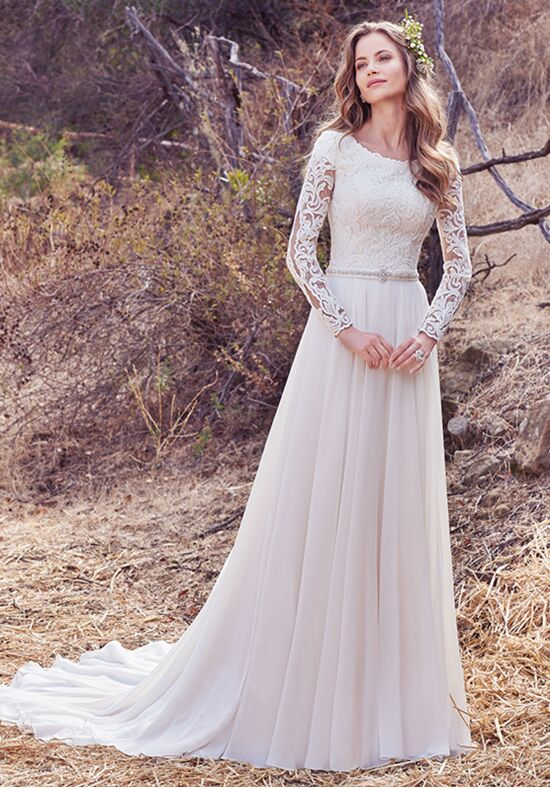 Maggie Sottero Darcy Marie A-Line Wedding Dress