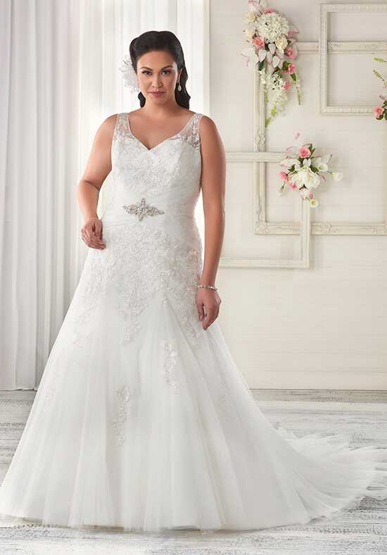 Unforgettable by Bonny Bridal 1612 Sheath Wedding Dress