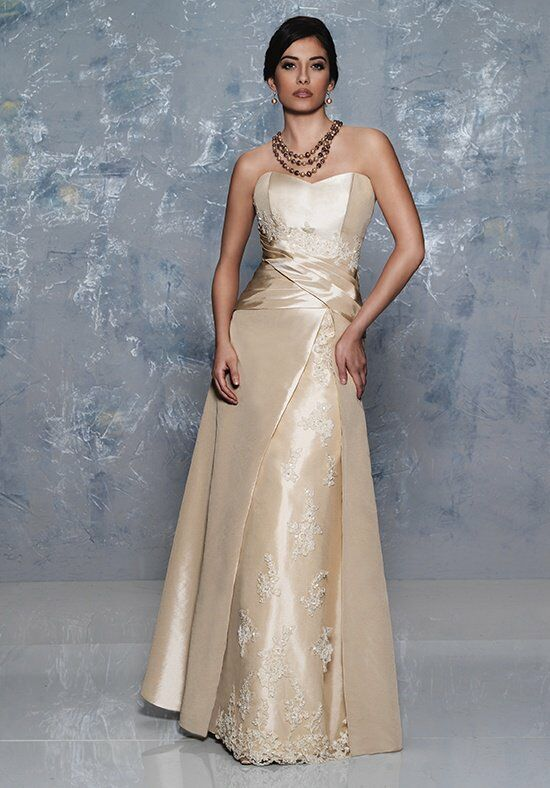 Beautiful Mothers by Mary's M2060 Ivory Mother Of The Bride Dress