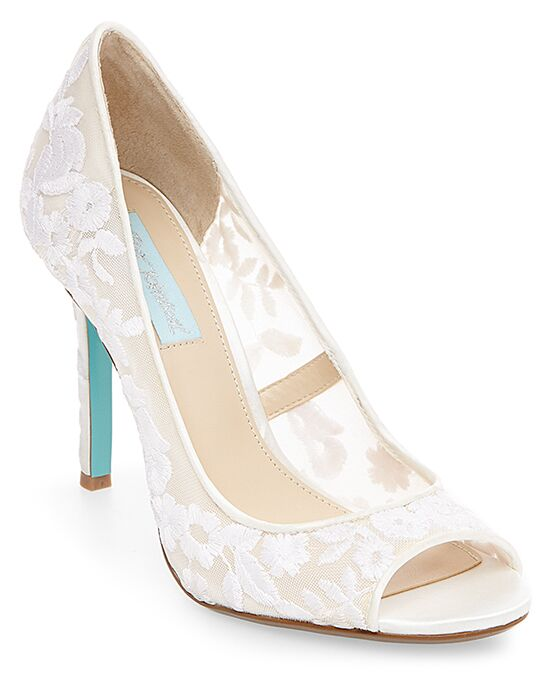 Blue by Betsey Johnson SB-ADLEY Wedding Shoes - The Knot