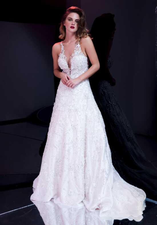 Stephen Yearick KSY155 A-Line Wedding Dress