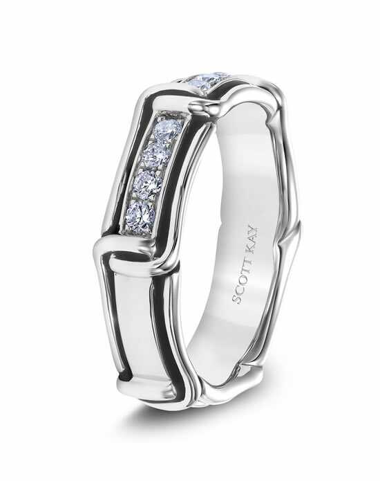 Scott Kay G4085RBV6 Platinum Wedding Ring