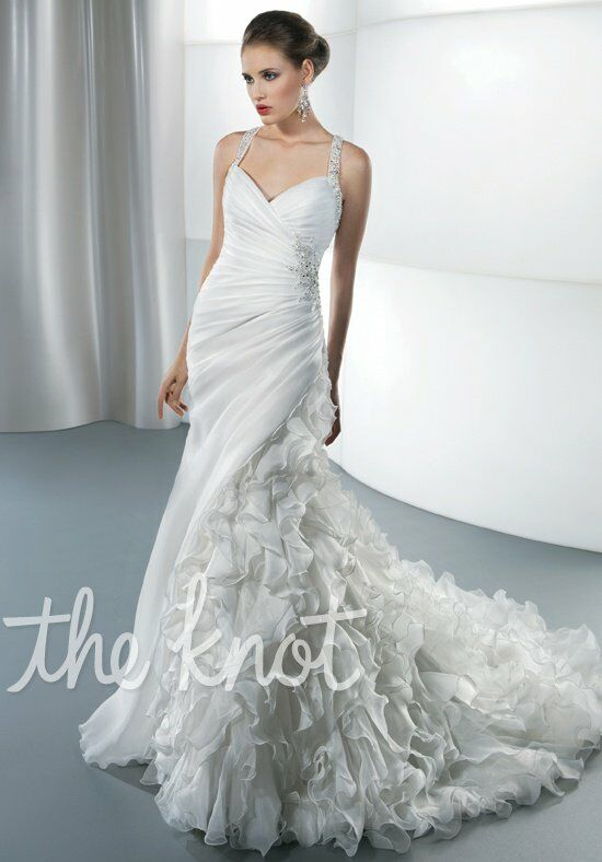 Demetrios 3194 Mermaid Wedding Dress