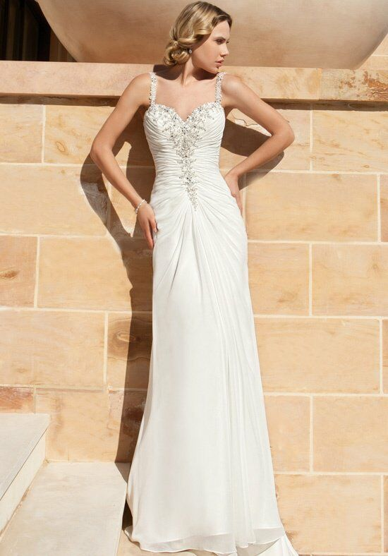 Demetrios DR190 A-Line Wedding Dress